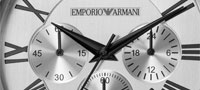 Fragment Armani horloge